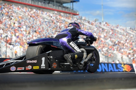 Eddie Krawiec (Photo by the NHRA)