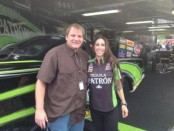 Alexis DeJoria and Publisher Anthony Caruso III (Photo by Anthony Caruso III)