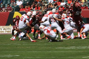Cougars kicker Richie Leone