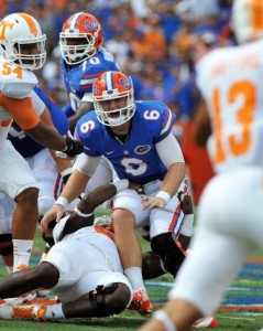 Jeff Driskel hurt on the play in question (Getty Images)