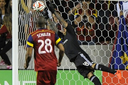 Real Salt Lake ends the Galaxy's run in theplayoffs
