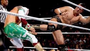 Alberto Del Rio and Sin Cara (Photo by the WWE)