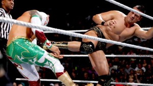 Alberto Del Rio and Sin Cara (Photo by the WWE)