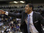 Kevin Ollie is seen here as the Connecticut Huskies head coach (Getty Images)