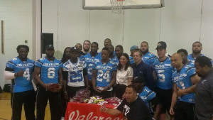 Philadelphia Soul at Samuel W. Ridgway Middle School (Photo by Anthony Caruso III)