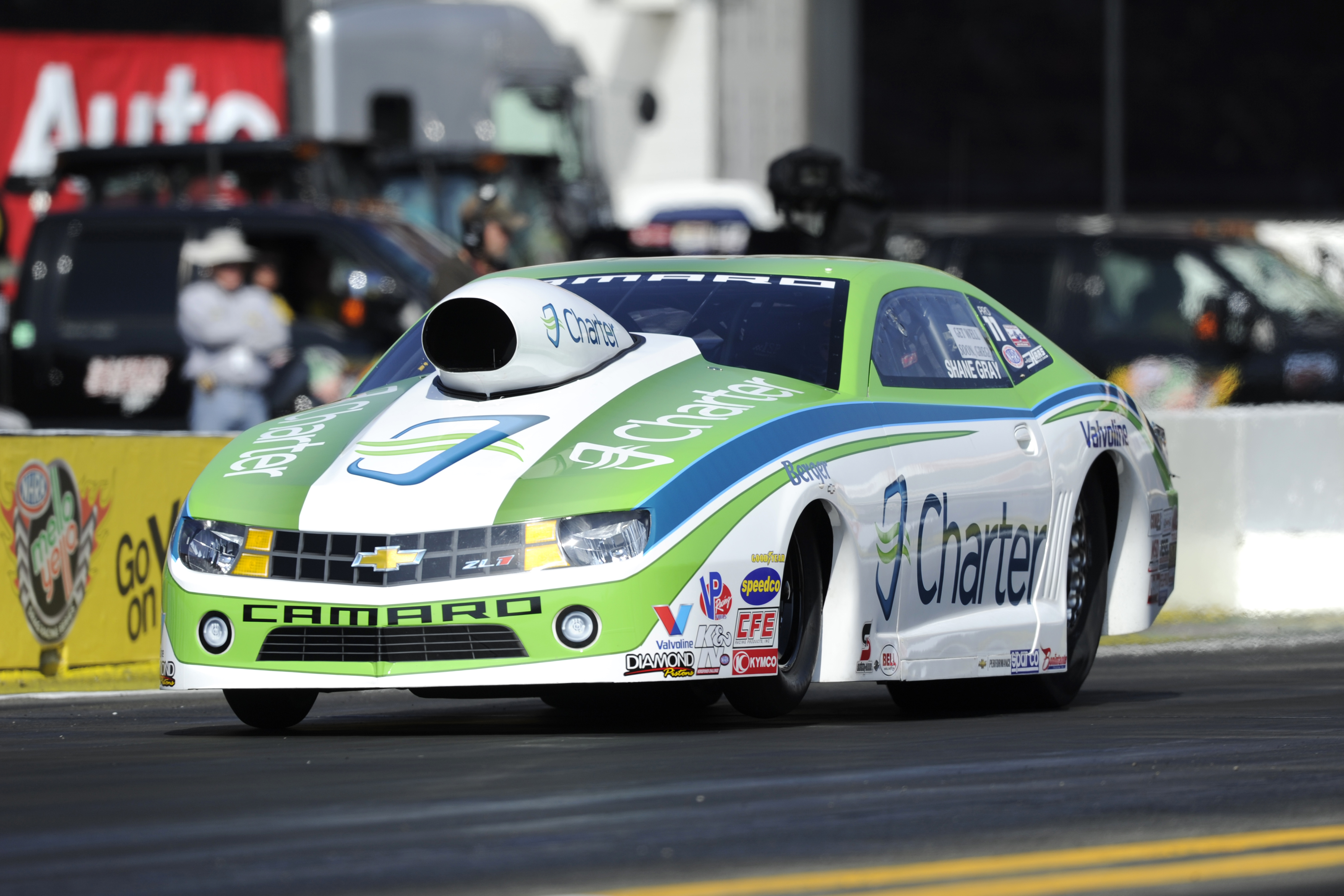 Shane Gray Takes The Pro Stock No 1 Qualifier At The Nhra Sonoma