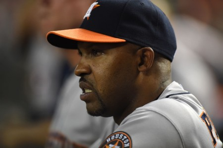 Bo Porter is seen here as the Houston Astros manager (Getty Images)