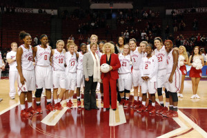 Sherri Coale (Photo by Oklahoma Sports Information)