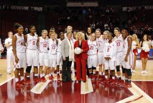 Sherri Coale (Photo by Oklahoma Sports Information)