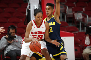 Michala Johnson (Photo by Wisconsin Sports Information)