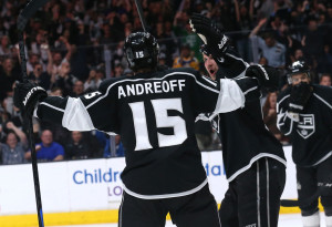 Andy Andreoff Los Angeles Kings