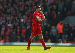Liverpool Manchester United Steven Gerrard