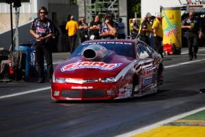 David Rickert Greg Anderson NHRA Summit Racing Drag Racing Pro Stock Old Bridge Township Raceway Park