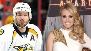 Mike Fisher Nashville Predators NHL Player Carrie Underwood Nashville Tennessee Hockey Husband