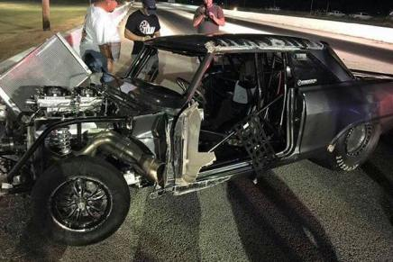 Street Outlaws' Daddy Dave involved in wreck