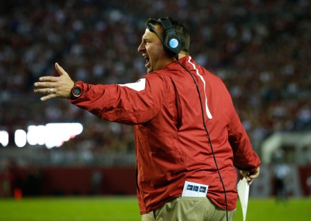 Arkansas Razorbacks head coach Bret Bielema (Getty Images)