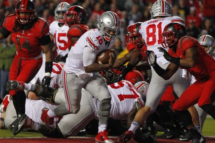 J.T. Barrett dominates the Scarlet Knights in first start