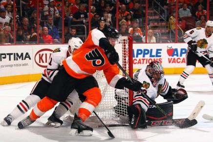 Flyers' Michael Raffl is doingbetter