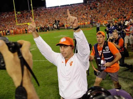 Dabo Swinney (Getty Images)
