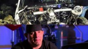 Big Chief Justin Shearer crashed his Crow on a Street Outlaws taping