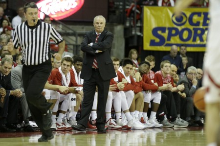 Bo Ryan is seen here as the Wisconsin Badgers head coach (Getty Images)
