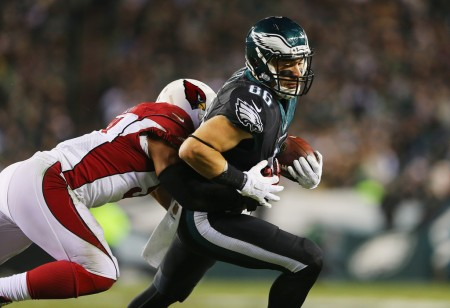 Zach Ertz (Getty Images)