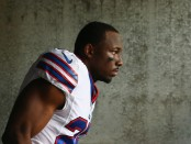 Buffalo Bills running back LeSean McCoy walks out of the tunnel before the game against the Philadelphia Eagles