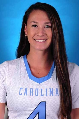 Marie McCool (Photo by the North Carolina Sports Information Department)