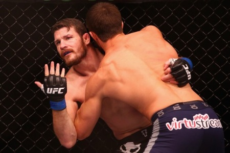 Michael Bisping and Luke Rockhold (Getty Images)
