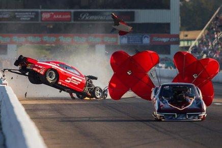 Jay Payne walks away from crash at Gateway MotorsportsPark