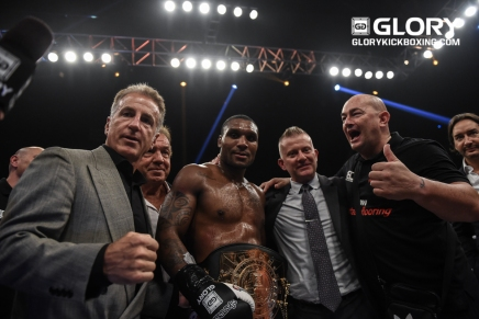 Glory SuperFight Series results 9-9-16