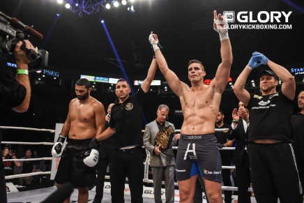 Glory 33 New Jersey results 9-9-16