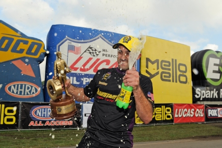 Nobile ends a long drought to pick up Pro Stock Wally at The Grove