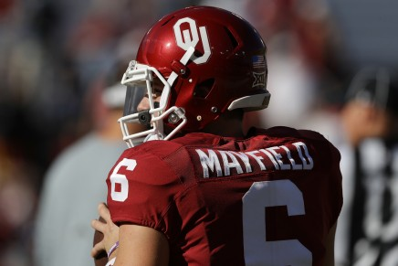 Mayfield is one of five OU QB's to throw for 50 TD's