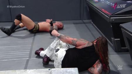 Bray Wyatt and Randy Orton (Photo by the WWE)