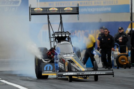 Pritchett picks up first No. 1 qualifier