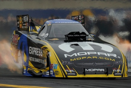 Hagan leads Funny Car at Maple Grove