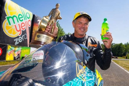 Tonglet, Savoie partner together in Pro Stock Motorcylce in 2017