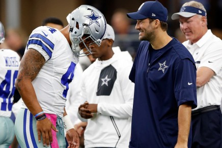 Todd Archer: Romo could start in Week 9 if healthy