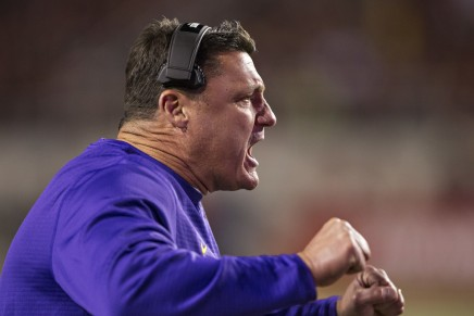 Report: LSU hiring Orgeron as full-time headcoach