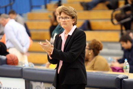 Coach Henderson (Photo by TCNJ Sports Information Office)
