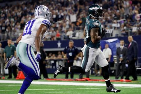 Ryan Mathews scores against the Dallas Cowboys (Getty Images)
