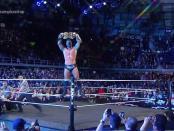 Wrestler Bobby Roode won the NXT Championship