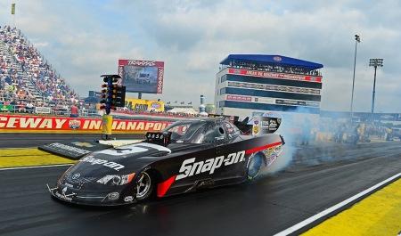 Cruz Pedregon in his Snap-On Funny Car (Photo by Pedregon Racing)