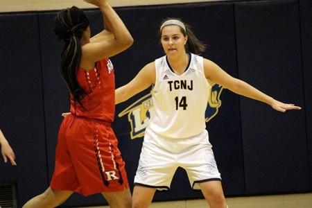 Jen Byrne (Photo by TCNJ Sports Information)