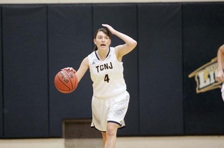 Kim Dana (Photo by TCNJ Sports Information Department)