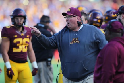 Golden Gophers fire head coach Tracy Claeys