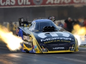Matt Hagan going off the starting line (Photo by the NHRA)