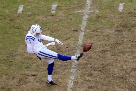 Colts punter Pat McAfeeretires