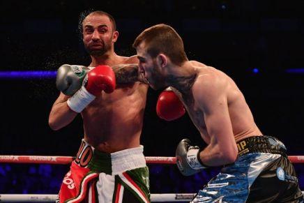 Eggington defeats Malignaggi in theeigth-round